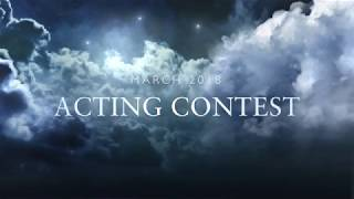 Actors! Win $100! March 2018 Acting Contest
