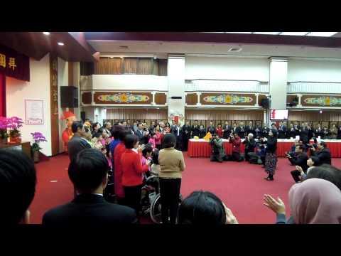 2014/02/05罕病天籟合唱團兒童團到立法院獻唱