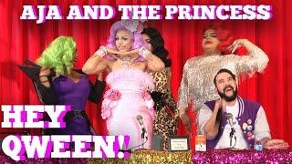 Aja and The Princess LIVE At DRAGCON 2017 on Hey Qween!