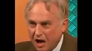 Richard Dawkins exploding at bullshit in the Bible