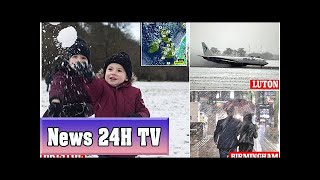 Motorways closed and thousands are left without power | News 24H TV
