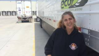 Female Truck Driver Interview