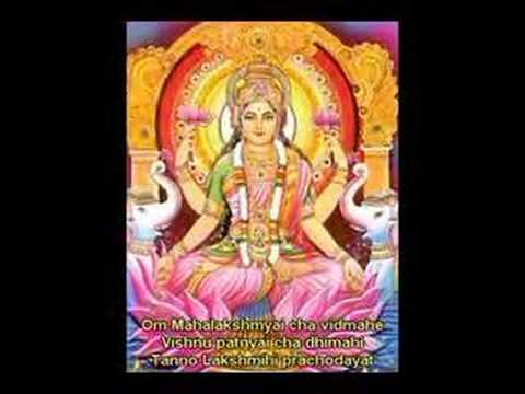 Lakshmi Laxmi Gayatri for Spiritual Wealth and Luxuries