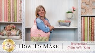 How to Make a Reversible Jelly Roll Bag | A Shabby Fabrics Sewing Tutorial
