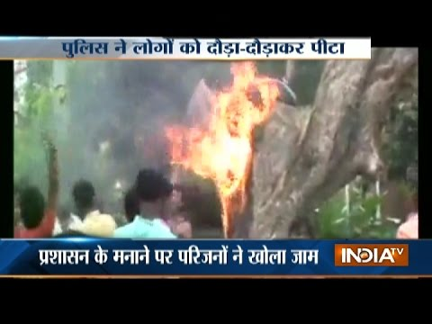 Xxx Mp4 Protest In MP 39 S Rewa As Youth Dies In Road Accident 3gp Sex