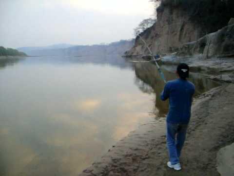 Impresionante pesca en el Bermejo