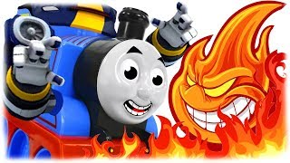 COMPILATION #1 Train Thomas to the Rescue the Heroes of Cartoons for Children