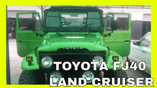 Toyota FJ40 LAND CRUISER RESTORED BY INH FINAL STAGE