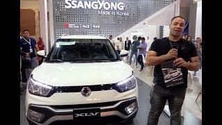 سانج يونج تيفولى xlv بكل حياديه SSANGYONG TIVOLI XLV review