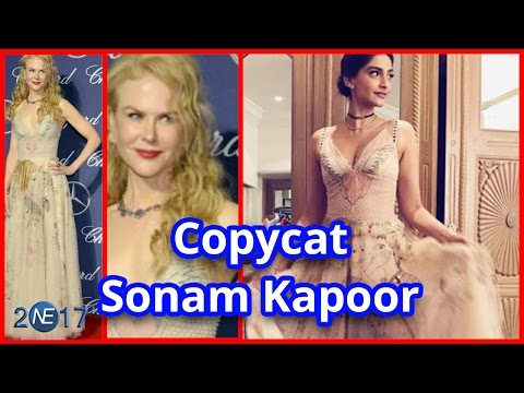 Xxx Mp4 Fashion Icon Sonam Kapoor हुई Copycat की शिकार कि Hollywood Actress की Dress Copy 3gp Sex