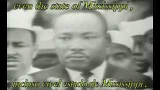 i have a dream - Martin Luther King (subtitulos en español)