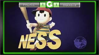GEEK'D UP SMASH! #35 - Losers Eighths - PKChris VS Blackbird