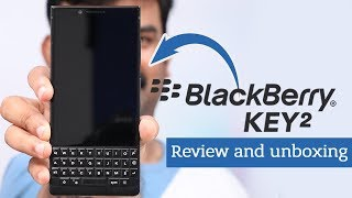 BlackBerry key 2 Review & Unboxing - Malayalam