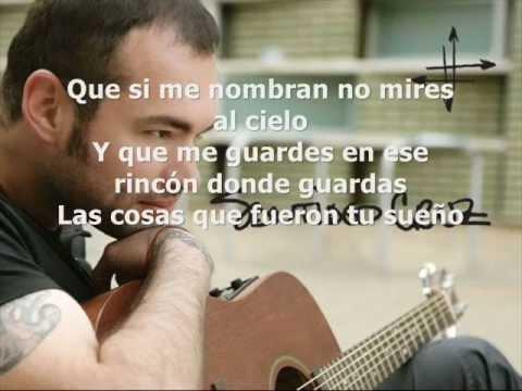Desde Lejos letra Santiago Cruz