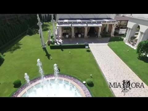 Restaurantul MiaDora filmat cu drona