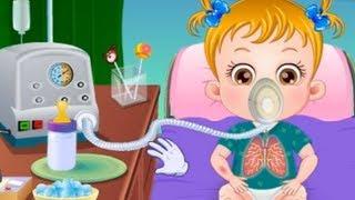 Baby Hazel Sick- Movie Time Baby Games