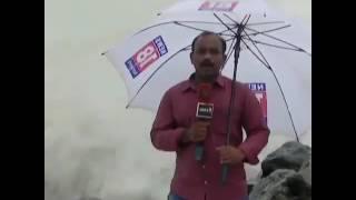 Funny Reporter fails on Beach