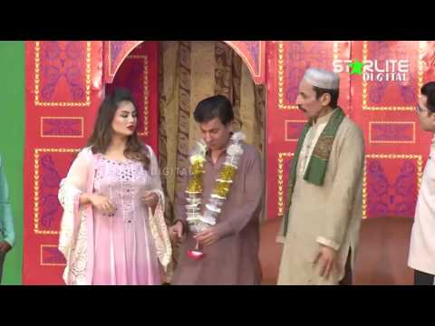 Tariq Teddy and Iftikhar Thakur New Pakistani Stage Drama Full Comedy Clip