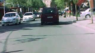 Albania Tirana 2014 Malok with Benz Turn right to left in hospital door