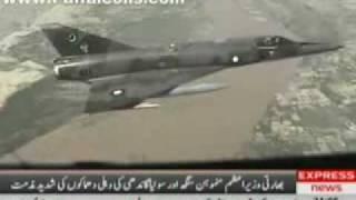 PAF Jets in Flights over North Waziristan - September 13, 2008