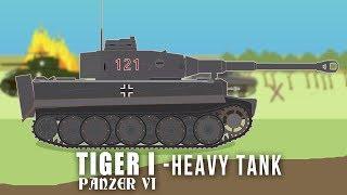 WWII Tanks: Tiger I - Heavy Tank