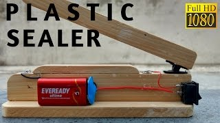 How to make Plastic Bag Heat Sealer Machine easy