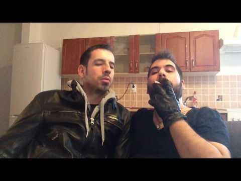 Xxx Mp4 Smoke And Kiss With My Biker Friend In Leather 3gp Sex