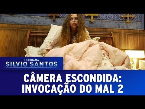 Invocação do Mal 2 - The Conjuring 2 Prank | Câmera Escondida (05/06/16)