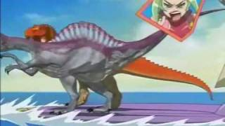 Dinosaur King Maui Owie Part 2