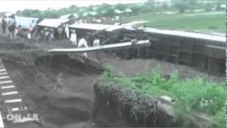 بالفيديو.. شاهد انقلاب قطارين يودي بحياة العشرات في الهند