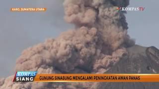 Sinabung Erupsi, Muncul 1.000 Gempa Tektonik Dangkal