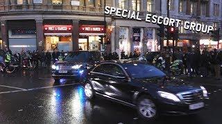 RARE | London Police SEG escorting Saudi Arabia Crown Prince Mohammed bin Salman