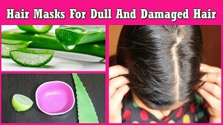 घने, मोटे, चमकदार व मुलायम बाल पाने के नुस्खे- Miracle Hair Mask for Dry,Damaged Hair & Frizzy Hair