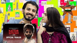 Kabir Singh – Official Trailer | Pakistan Reaction - Shahid Kapoor, Kiara Advani | Sandeep Reddy