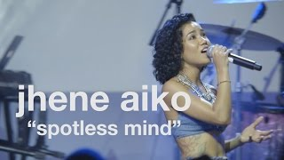 "Jhene Aiko, ""Spotless Mind"" (Live at vitaminwater's #uncapped)"