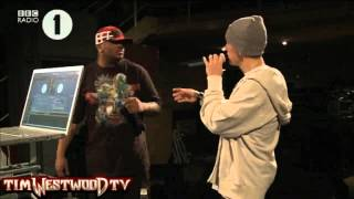 Westwood -  EXCLUSIVE  Eminem freestyle Radio 1