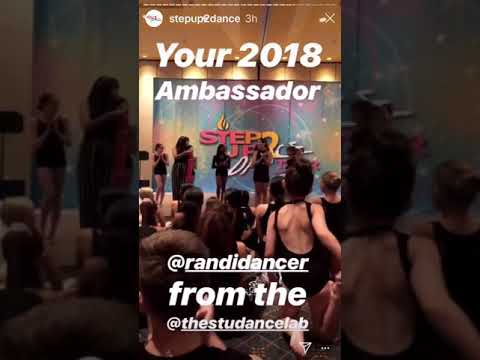 Xxx Mp4 Randi 2018 Ambassador At Step Up 2 Dance 2018 19 Season 3gp Sex