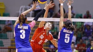 China vs Philipines | 09 Sep 2016 | Quarterfinals | 2016 Asian Women's Club Volleyball Championship