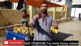 Saree Ke Fall Sa | Banana Video Song |Rajkumar | Parody Pakistani Talent Funny Video song New 2017
