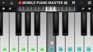Dil Mere Tu Deewana Hai Piano|Piano Keyboard|Piano Lessons|Piano Music|learn piano Online|Piano