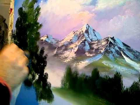 Ressam Abbas Culfali yagli boya
