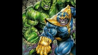 Hulk vs. Thanos - Full Analysis