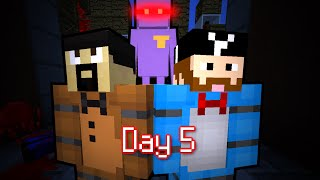 MINE Nights at Freddy's 2 - FACTORY | Day 5 | FNAF Minecraft Roleplay