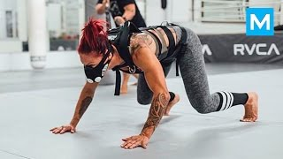 Cris Cyborg MMA Training Highlights | Muscle Madness
