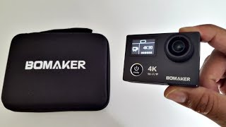 2017 BEST 4K UHD Dual Screen Action Sports Camera - BOMAKER