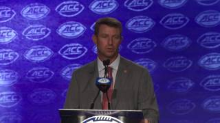 ACC Kickoff:  Swinney Q&A Part Two