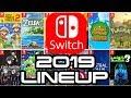 Nintendo Switch Insane 2019 Lineup!