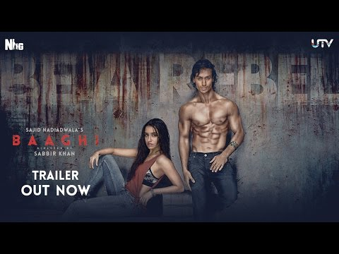 Baaghi Official Trailer | Tiger Shroff and Shraddha Kapoor | Releasing April 29