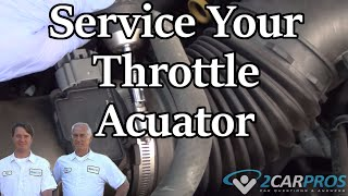 Throttle Actuator Service Hyundai Sonata 2009-2014