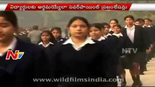 Income Tax Department Tax Lessons to School Student   Power Point Presentations   NTV